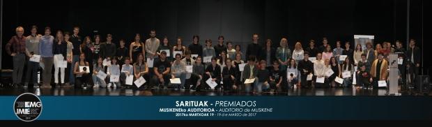 SARITUAK - PREMIADOS